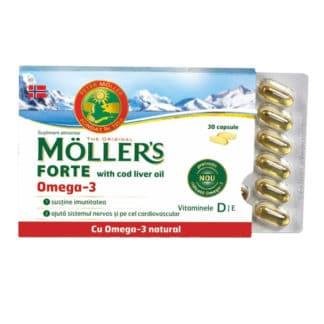 Omega 3, 30 cps, Moller's