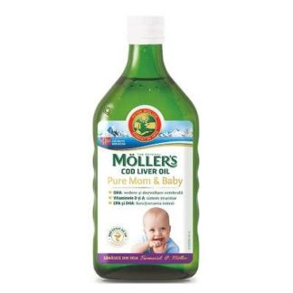 Cod Liver Oil Pure Mom&Baby, 250 ml, Moller's