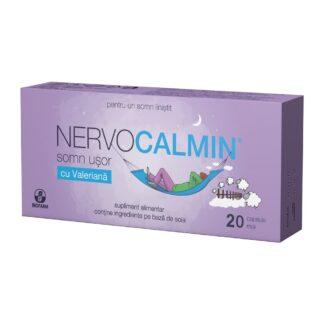 Nervocalmin cu valeriană, 20 cps, Biofarm