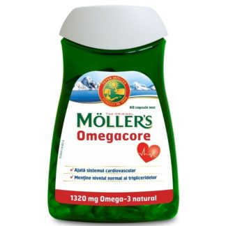 Omegacore, 1320 mg, 60 capsule, Moller's