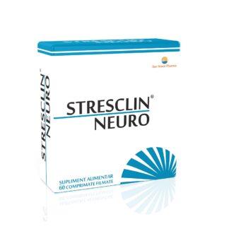 Stresclin Neuro, 60 cpr, Sun Wave Pharma