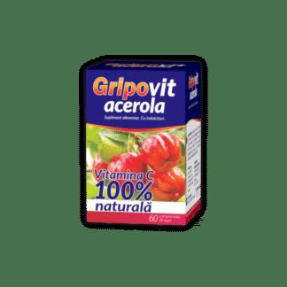 Gripovit Acerola, 60 cpr de supt, Zdrovit
