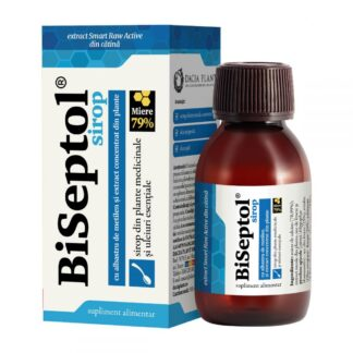 BiSeptol Sirop cu Albastru de Metilen, 100ml, Dacia Plant