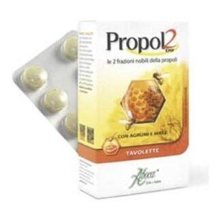 Propol 2 Emf cu citrice si miere, 30 tablete, Aboca